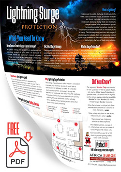 FREE Download - The Lightning Strike Zones in a Home